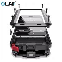 Olaf Heavy Duty Case Metal Case Shockproof Cover For Samsung Galaxy S4 S5 S6 S6edge S7