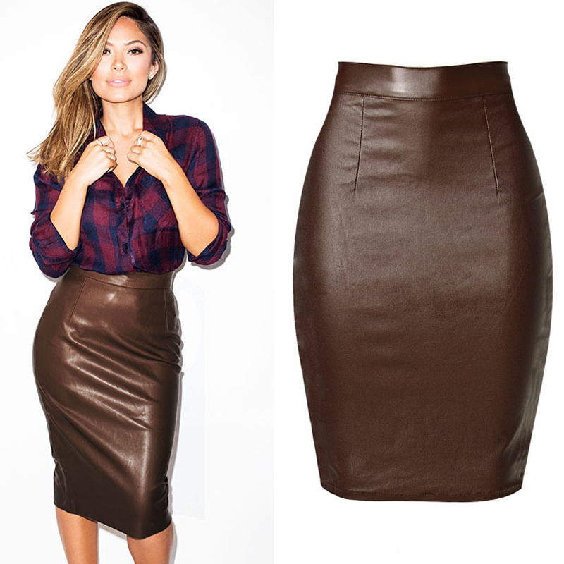 Online Get Cheap Women Leather Skirts -Aliexpress.com | Alibaba Group