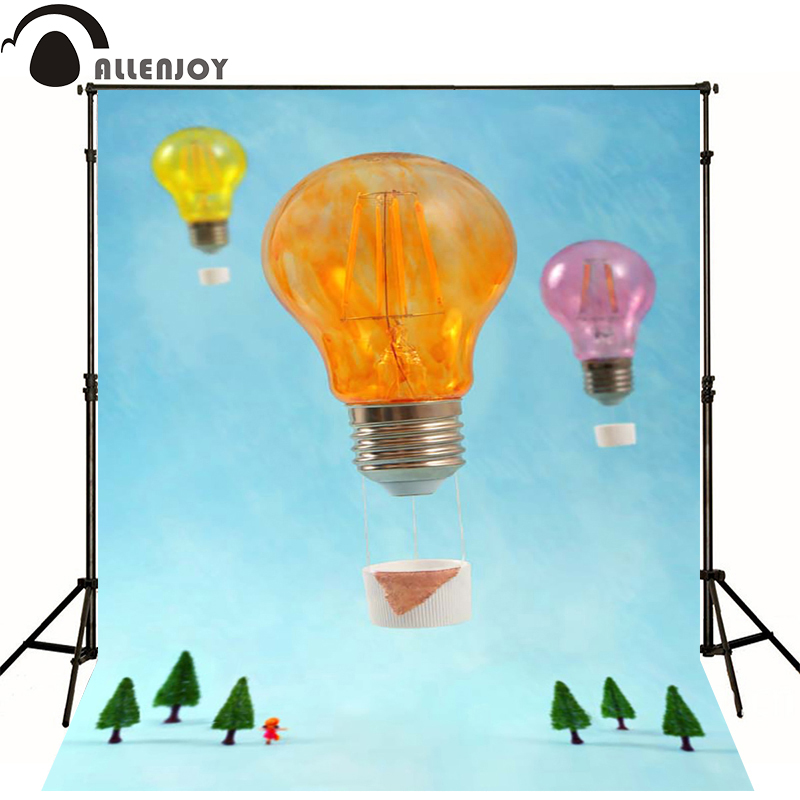 Allenjoy Photographic background Lamp orange yellow powder newborn lovely princess custom camera fotografica wall floor