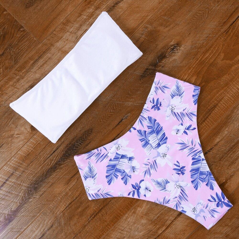 Sexy Bandeau Bikini 15