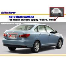 цена на Rear Camera For Nissan Bluebird Sylphy / Cefiro / Pulsar / Back Parking Camera / HD CCD RCA NTST PAL / License Plate Lamp OEM