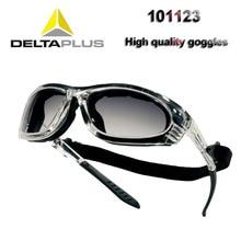 نظارات واقية من DELTA PLUS 101123 نظارات حماية من الأشعة فوق البنفسجية مضادة للصدمات أثناء ركوب الدراجات قابلة للفصل مزودة بإطار حماية من الفقاعات