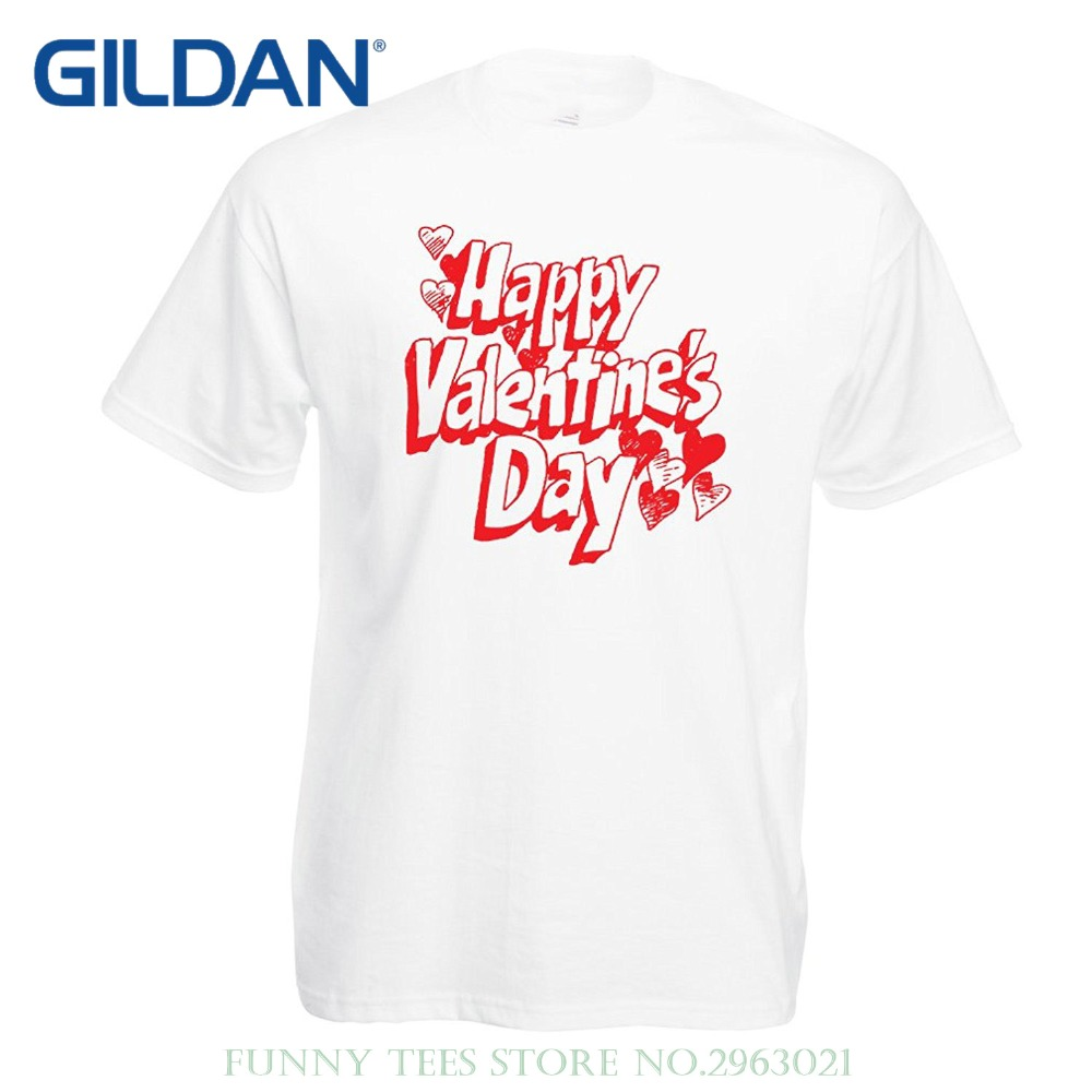 "Love Quotes Clothing Sleeve Shirts Fashion T Shirts For Men ""happy Valentine Day My"