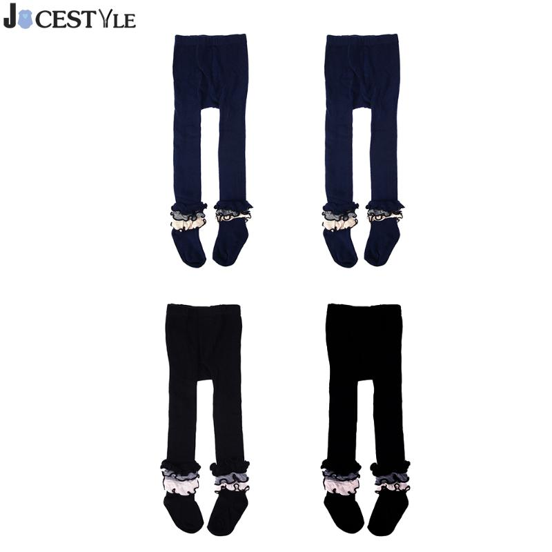 JOCESTYLE Baby Girls Stockings Children Kids Cute Lace Pantyhose Dance SpringAutumn Cotton Tights  Soft Infant Clothing