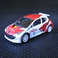 Norev 1:64 Peugeot 207 Total WRC King of the road boutique alloy car toys for children kids toys Model original box freeshipping