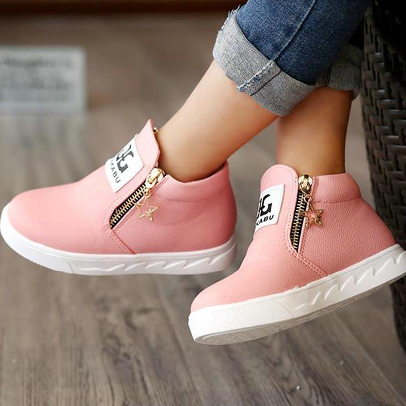 Children shoes boys girls hot fashion Martin australia boots single low short botas kids baby nina boys autumn shoes 120