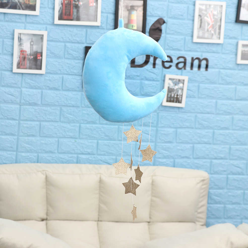 10 Styles Moon Cloud & Star Pattern Craft Kids Girls Boys Bedroom Hanging  Decoration Accessories Home Room Decor