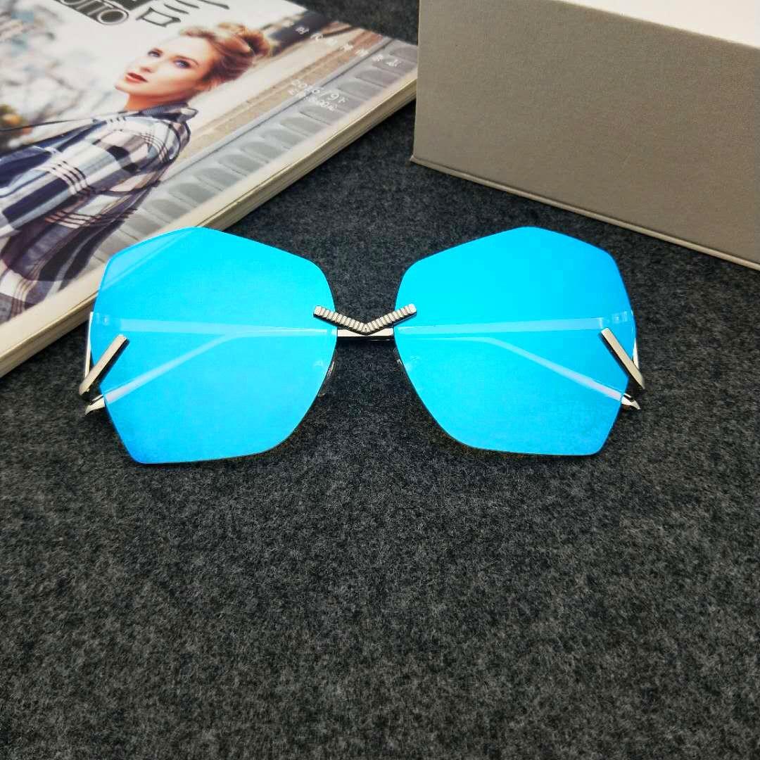2018 Summer Kids Sunglasses Polygonal Shaped Baby Girls&boys Uv400 Sun Glasses Anti-reflective Lens Gold Leg Cute Oculos N74 Girls' Clothing