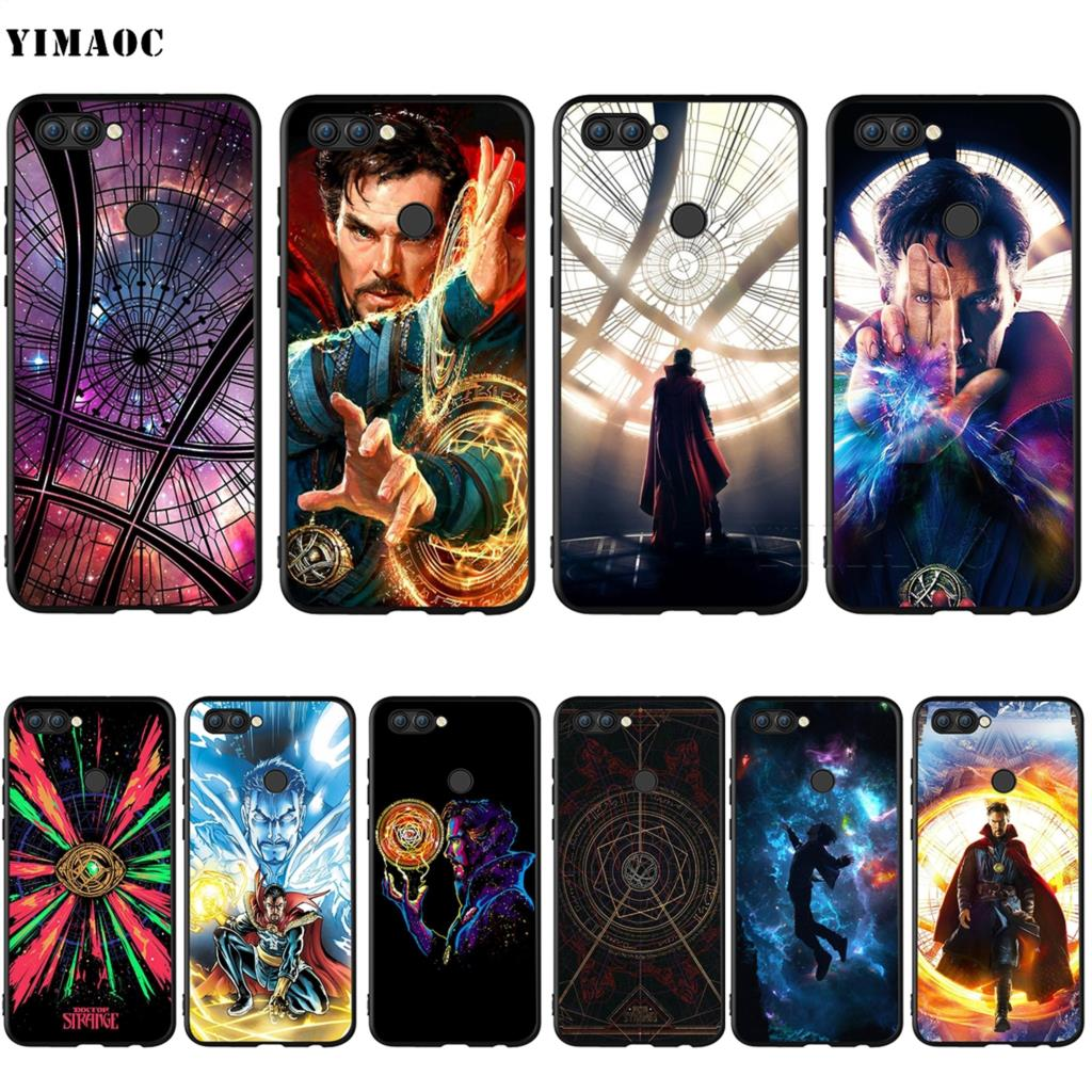Fitted Cases Doctor Strange Silicone Case For Huawei Mate 10 P8 P9 P10 P20 P Smart Lite Pro Mini 2017 Wide Selection; Yimaoc Dr
