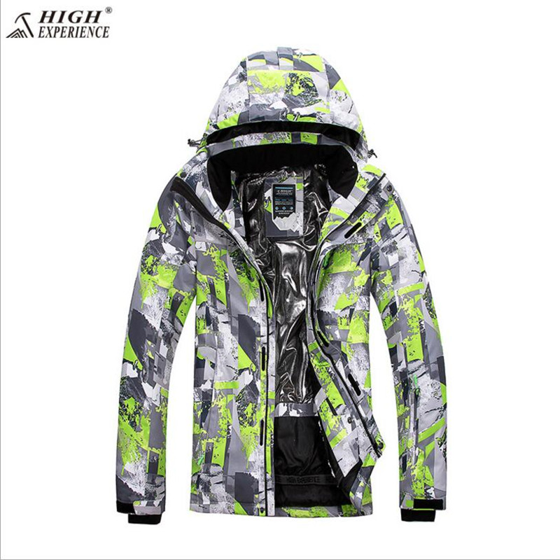 2018 Men Ski Jacket Thermal Clothing Waterproof Windproof Outdoor Sport Wear Skiing Snowboard Super Warm Coat Thicken Male New black sliver 25mm f 1 8 hd mc manual focus lens for olympus panasonic m4 3 camera gx7 gx8 gh4 gh3 om d e m5 e m1 e m10 e pl7