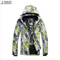 2018 Men Ski Jacket Thermal Clothing Waterproof Windproof Outdoor Sport Wear Skiing Snowboard Super Warm Coat Thicken Male New