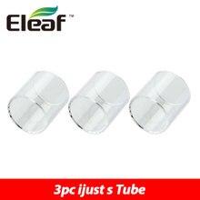 3 stücke Original Eleaf ijust S Atomizer Röhren 4 ml Pyrexglas Tube Pure farbe für Eleaf iJust S Kit und ijust s Tank Rohr 3 stück