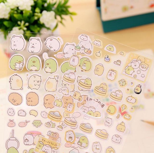 24 pcs/lot New Arrival Korean Sumikko Gurashi Party (24 ชิ้น)