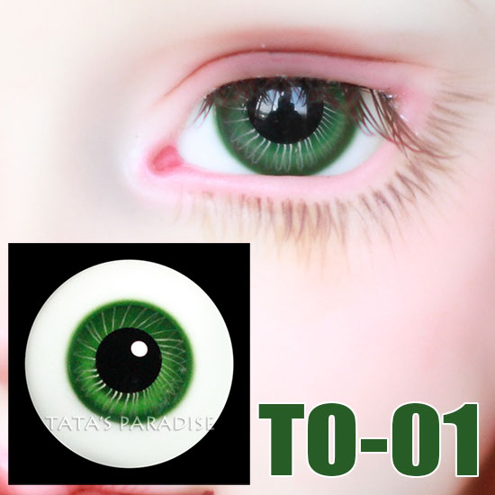 14mm 16mm black pupil green BJD Eyes  Eyeballs  for 1/3 1/4 1/6 BJD SD Ball-jointed Doll uncle 1 3 1 4 1 6 doll accessories for bjd sd bjd eyelashes for doll 1 pair tx 03