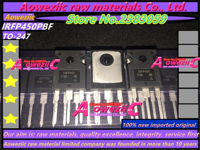 Aoweziic 2018+ 100% novi uvozni IRFP450 IRFP450PBF TO-247 N rov FET - Igre i pribor - Foto 4