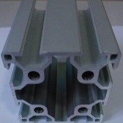 8mm 6060 anodowane przemysłowy profil aluminiowy anodowany T Slot wytłaczany stop aluminium