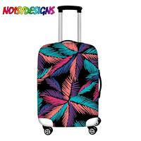 NOISYDESIGNS Bright Colors Trolley Case Suitcase Dust Cover Tropical Print Luggage Protective Cover 18 32 Inch Travel Accessorie