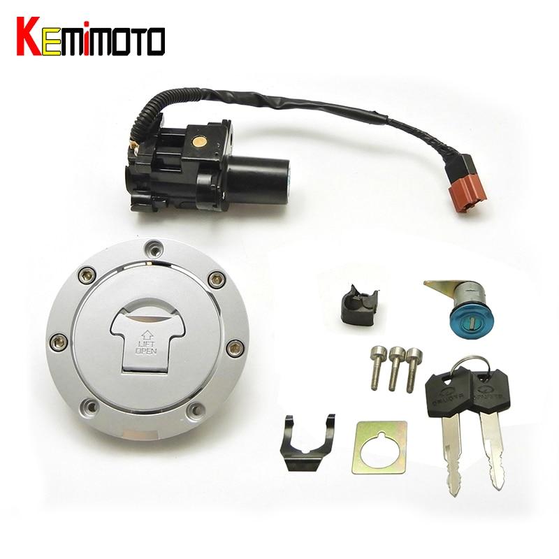 KEMiMOTO зажигания топливного газа Крышка замок ключ для Honda CBR1000RR CBR600RR 2007-2014 CB1000 аксессуары для мотоциклов