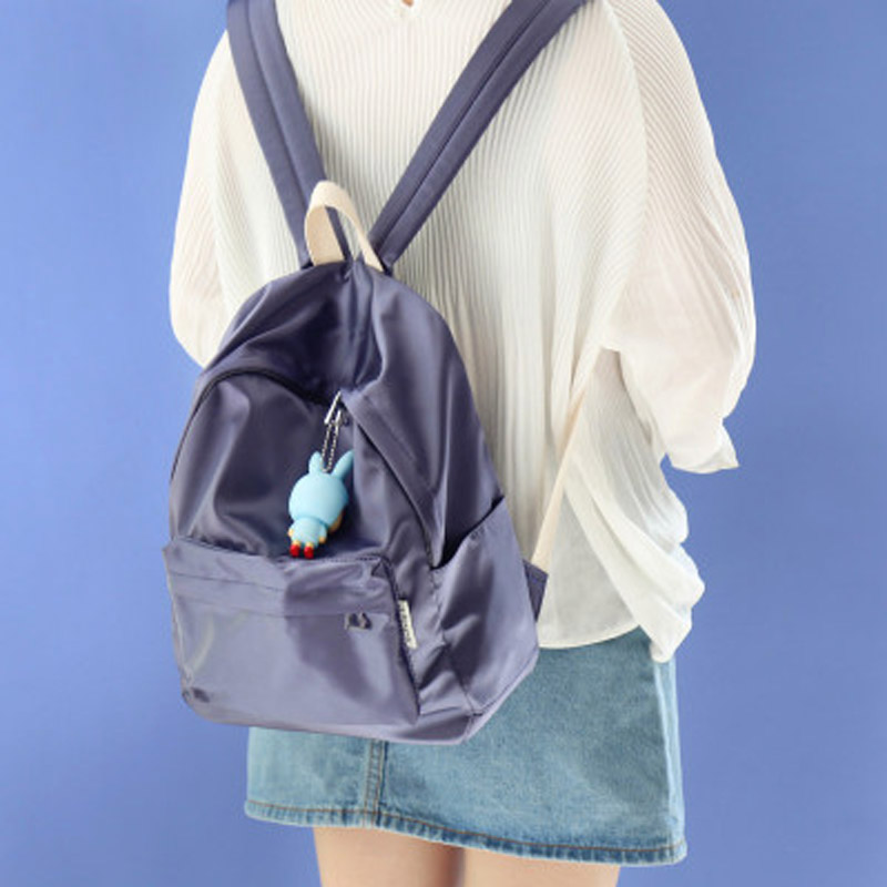 NuFangU 2018 super light pure color corduroy women backpack fashionable leisure bag school student book bag leisure travel bag