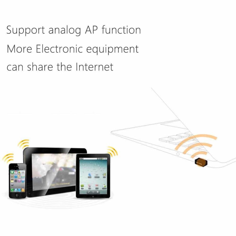 Mini PC WiFi adapter 150 M USB WiFi antena Kartu Jaringan Komputer - Peralatan jaringan - Foto 3
