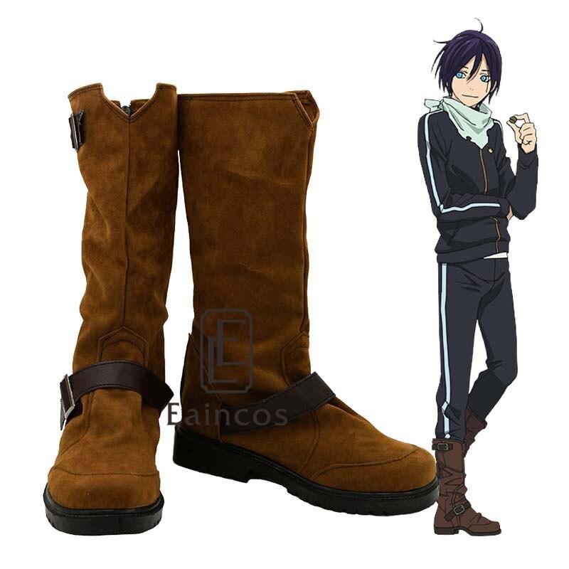 Noragami ARAGOTO Bishamon Cosplay Shoes Boots 2