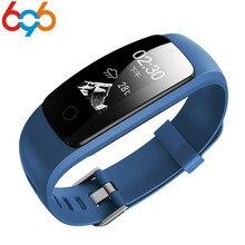 ID107 Plus HR ID107Plus GPS Atividade Sports Pulseira Inteligente Pulseira Monitor de Freqüência Cardíaca Aptidão de Saúde Faixa de Pulso Inteligente Ban