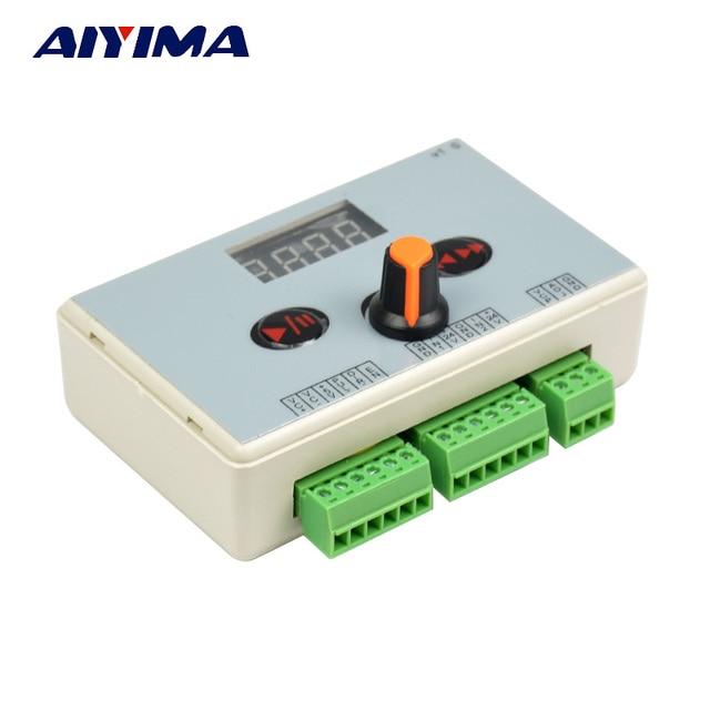 Aiyima reversible motor controller speed regulator pulse for Stepper motor velocity control