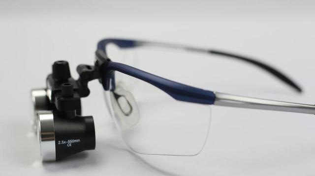 b25655ccd82050 TAO S 2.5x médicale chirurgicale loupes Dentiste Chirurgie Dentaire  Binoculaire Médicale Loupes 2.5X Lunettes Loupe