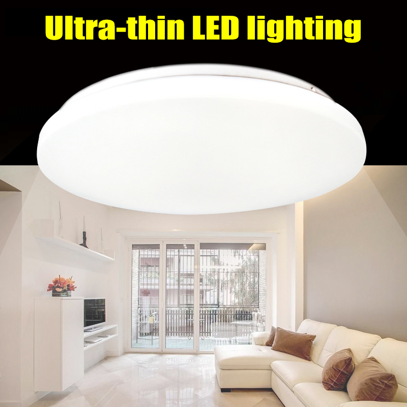 LED Downlight 12W 18W 24W Round Ceiling Lamp LED Bulb Bedroom Kitchen Indoor Spot Lighting CLH@8 american country bedroom corridor balcony lamp led 12w 18w 24w round led ceiling light indoor lighting lamps ac 110v 220v