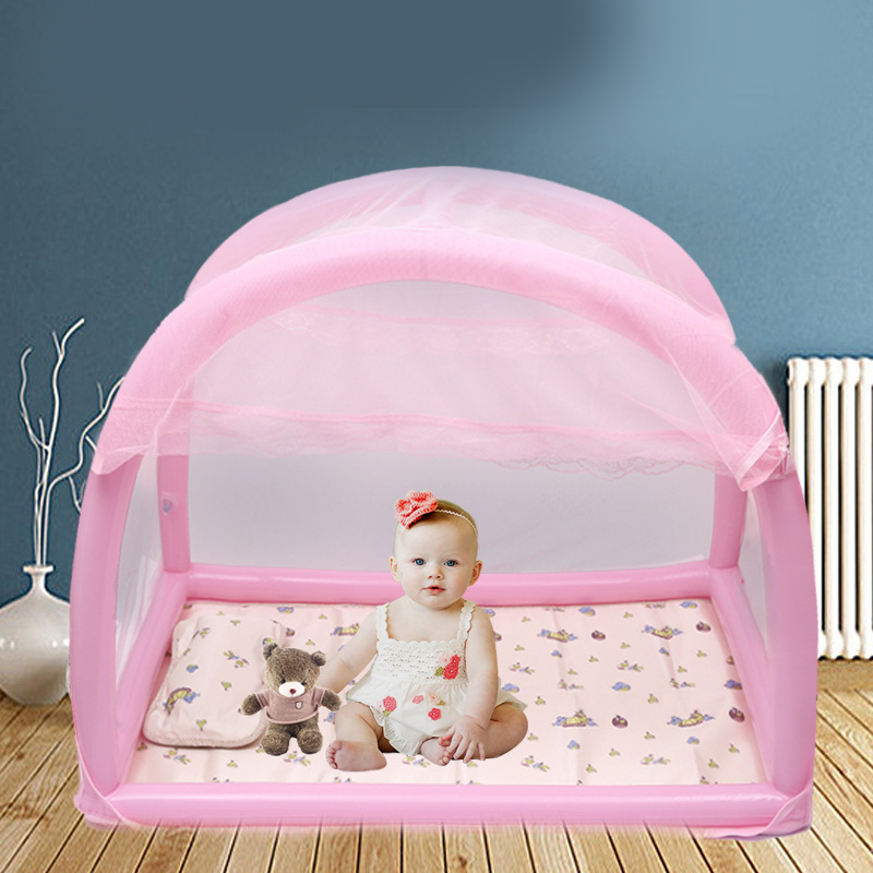 Baby Bed Mosquito Net Tent Camping Indoor Outdoor Yurt Infant Children Child Crib Tent Bed Baby Mosquito Net Stand Canopy