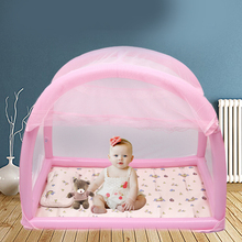 цена на baby bed mosquito net Tent camping indoor outdoor yurt infant children child crib tent bed baby mosquito net stand canopy
