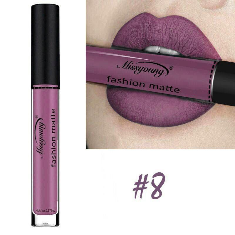 18 Colors Matte Liquid Lip Gloss Matte Lipstick Long Lasting Waterproof Makeup Women Beauty Cosmetics 6