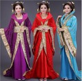 Fotografía de moda Nacional Chino Hanfu Traje de Hadas Antiguo para Las Mujeres 9 Color Cosplay Desgaste de la Danza