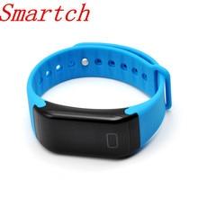Smartch F1 Smart группа крови кислорода Давление Мониторы спортивный браслет сердечного ритма Мониторы вызова/SMS напоминание для IOS Android телефон