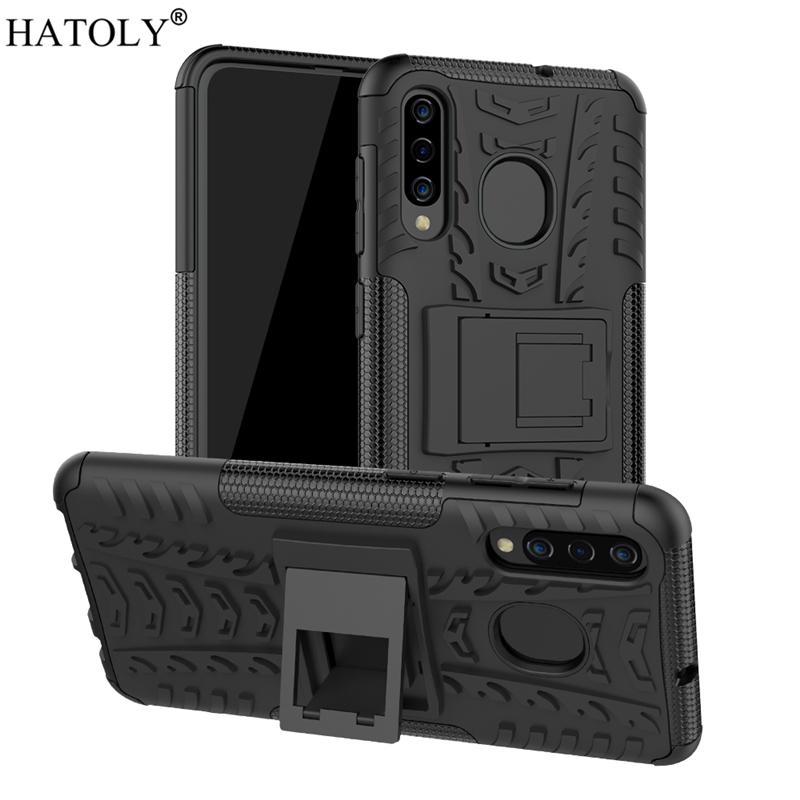 For Samsung Galaxy A50 Case Shell Hard Rubber Silicone PC Cover for Phone A505F