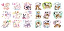 Cat Patches Whole Lot Iron On For Clothes Children Christmas Gift T-shirt Dresses Jeans Socks DIY Accessory