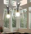 Подвеска с форме утки лампа Лофт подвесные лампы американский кантри стиль освещение Антуан Laverdiere