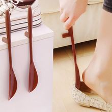 1 Piece 16/30cm Shoes Accessories Shoe Horn Hanging Lengthen PP TPE Shoehorn Long Shoe Horn For The Aged & Pregnant Woman Gifts(China)
