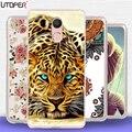 "Fundas For Oukitel U15 Pro Case soft Silicone TPU Cover cartoon mandala lion cat case For Oukitel U 15 Pro 4g 5.5""case hoesje"