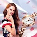 2016 Newest Relogio Feminino Geya Fashion Watch Women Dress Ladies Quartz Watch Stainless Steel Strap Clock Women Bracelet Watch