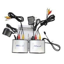 PAT220 2.4GHz IR Remote Extender 150m RCA Extender Wireless AV Transmitter & Receiver Compatible with DVD, DVR, CCD camera