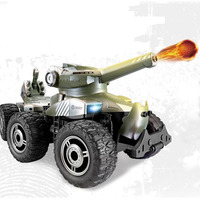 RC Car Charging Armored Polar War Chariot Launch Bullets 4WD Off Road 6 Wheel Remote Control Tank Toys For Children Gifts