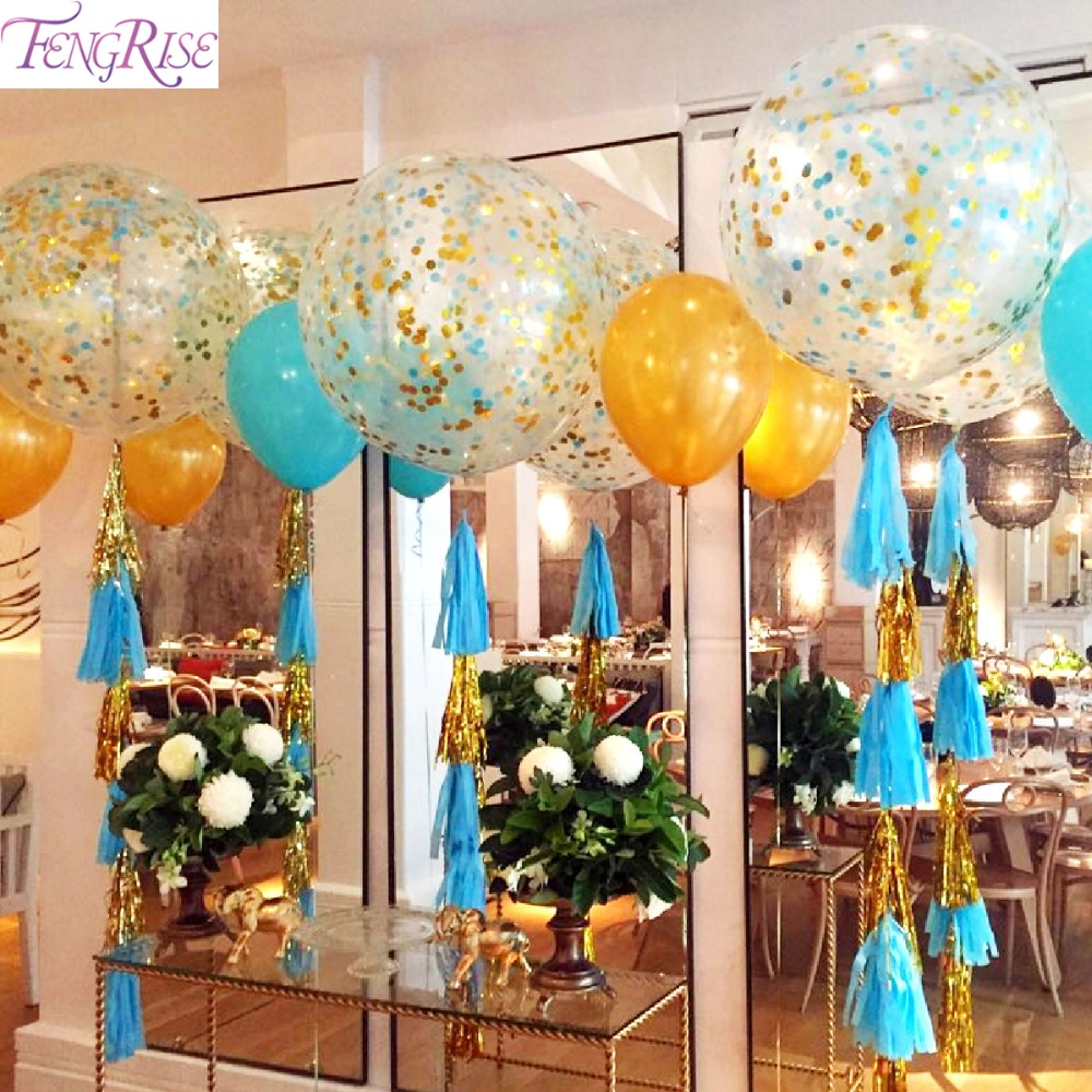 Balloon Baby Shower Decorations