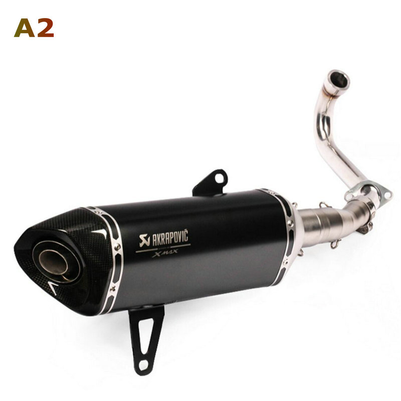 Image 3 - Akrapovic exhaust motorcycle Xmax 250 Modified Exhaust Muffler Xmax 300 Slip On For YAMAHA Xmax Series Scooters 2017 2019-in Exhaust & Exhaust Systems from Automobiles & Motorcycles