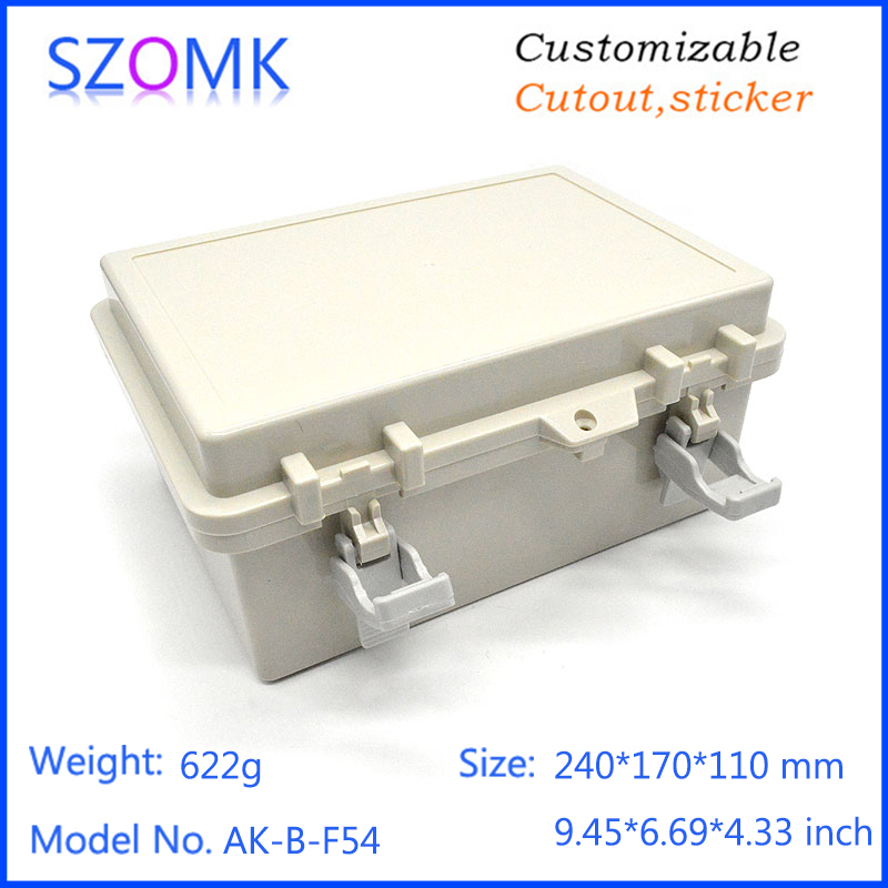 4psc a lot light color power supply enclosure 240*170*110mm 9.45*6.69*4.33inch good price plastic enclosure hot selling4psc a lot light color power supply enclosure 240*170*110mm 9.45*6.69*4.33inch good price plastic enclosure hot selling