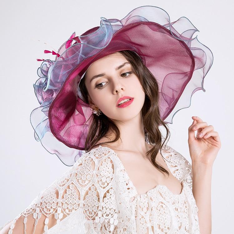 De playa plegable protector solar sombrero para el sol sombrero verano de  Las Mujeres perla de la flor neta tapa de hilo de estilo Europeo y  Americano ... 071d2cc6627