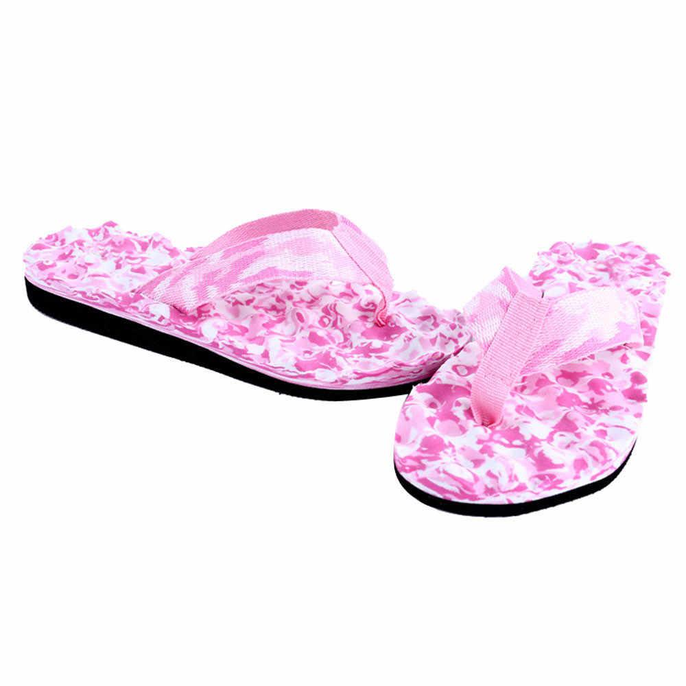 Novas mulheres sapatos de verão 2018 chinelos de ver o Mulheres Verão Flip Flops Sapatos Sandálias Flip Flops Chinelo indoor & ao ar livre hot #7