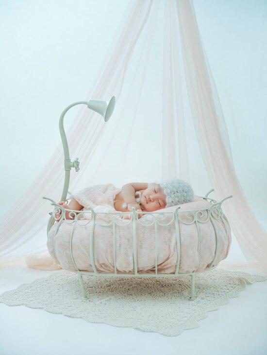 Newborn Photography Props Baby Bathtub Shower Posing Theme Baby Props Studio Interior And Exterior Scenery Iron Bath Frame