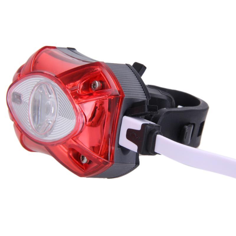 USB Aufladbare Hinten Schwanz Licht Lampe Rücklicht Raypal Regen Wasserdichte Helle LED Sicherheit Radfahren Fahrrad Licht Hohe Qualität
