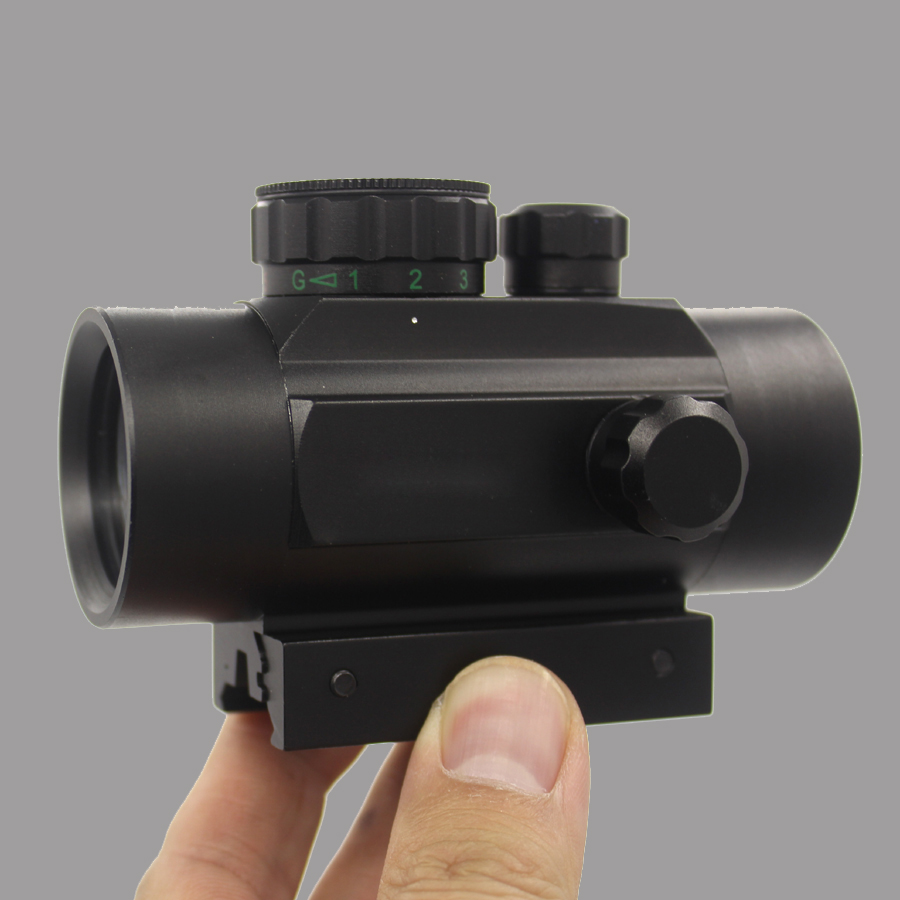 Red&Green Dot Scope 1X40 Tactical Hunting Holographic Sight Fit 20mm Rail 11mm Mount Riflescopes Hunting Optic